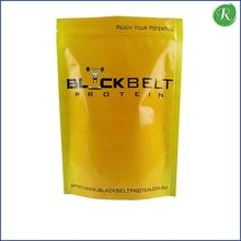 Die cut tech paper coffee bag with custom print