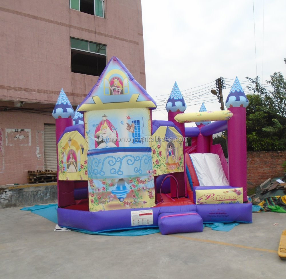 2015 caliente inflable comercial princesa jumper
