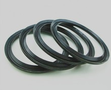 Molded silicon rubber flap seal