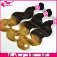 New arrival no mixed one donor human hair mix colour weaves