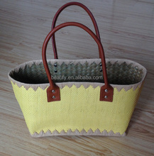Wholesale lady's popular style woven summer bags