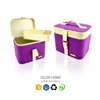 High quality recyclable leather jewelry box for cosmetic