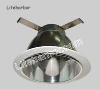 """75W Max. PAR30/BR30 line voltage 6"""" cone trim with reflector"""