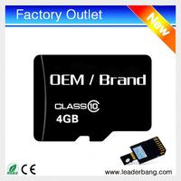 Upgrade memory card 4gb micro card wholesale