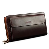 FEGER custom clutch bag with zipper wristlet clutch handbag for men