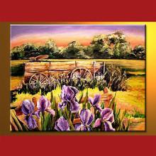 Flower art painting home design Wholesale