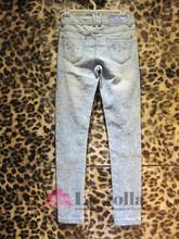 2015 New Fashion Jacquard Ladies Jeans H008