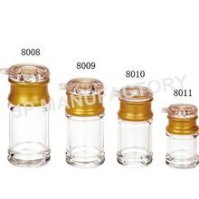 clear plastic PC Cruet, sauce, Acrylic oil bottle for restaurant