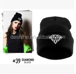 New Unisex Men Women Hip-Hop Warm Winter Knit Ski Beanie Hat