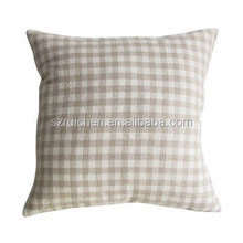 45*45 square natural cotton & linen pillow