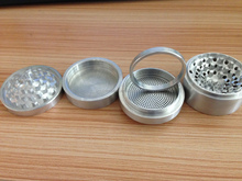 TOP Quality CNC 6 Pieces 4 Layers Large Dry Herb Grinder With Replaceable Screen And Magnetic Cove Popular On Alibaba