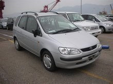 1999 Toyota Corolla Spacio G PACKAGE AE111 Used Car From Japan (84854)
