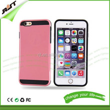 Cheap chinese mobile phone case for iphone 6 anti-scratch hybrid pc tpu combo phone case cover for iphone 6
