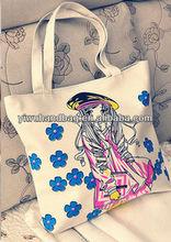 sweet girl cheap logo shopping tote bags