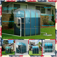 China Puxin Portable Assembly Membrane Solar Heating Biogas Digester to Treat Animal Waste