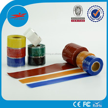 Waterproof high temperature self bonding silicone rubber tape with high dielectric strength