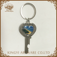 with good reputation metal key shape key chain free samples