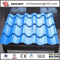 textured PPGI metal roofing