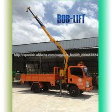 Europeo estándar 3 ton knuckle boom hidráulico mini Hidra grúa en venta SQ3.2ZA2