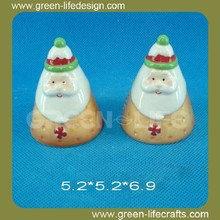 Christmas cookie design salt and pepper cruet