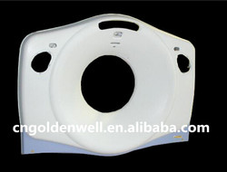 Custom hand lay up fiberglass medical equipment covers