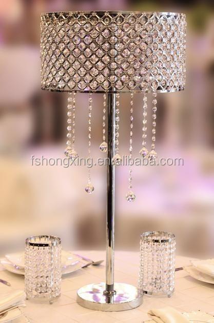 Fs wedding centerpiece artificial flower tall acrylic