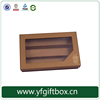 alibaba china hot sale custom paper cardboard cake packaging box for macaron cake with clear window