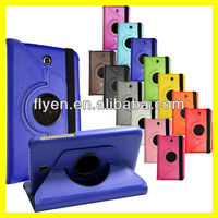 For Samsung Galaxy Tab 3 7.0 7 inch Tablet SM-T210R 360 degree Rotating lichi pattern pu Leather Case Cover