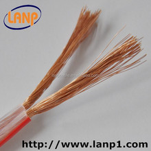Transparent flexible &Stranded electrical copper speaker wire