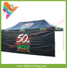 Advertising hexagon 50mm aluminum trade show ez up instant canopy shelter