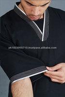 Black Half Sleeves Thobe / Thawb