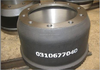 Heavy duty truck brake drum OEM:0310677040
