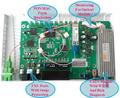 Catv equipo Terminal de dispositivos 4 FE GEPON EPON ONU CATV receptor