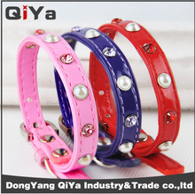 Pet products wholesale ,Pet collar dog cat high-end color diamond ring