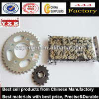motorcycle chain and sprocket kits for Honda Dream, 428-102L/14T/36T