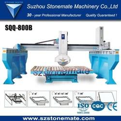 Automatic bridge infrared stone cutting machine
