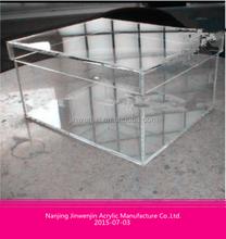 ausgezeichnete Qualität wholenew material unisex acrylschuh kasten mit deckel