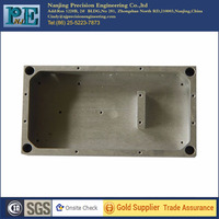 precision aluminium die casting cnc milling machining motor case