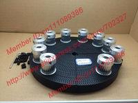 Шкив POWGE 10 3M 24 6,35 + 10Meters HTD 3M 15 10pcs 24teeth 3M timing pulley Bore6.35mm + 10meters 3M timing belt