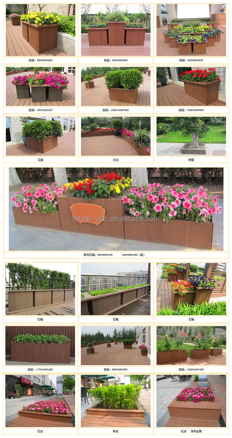 800 x 780 x 600 mm frstech design en bois jardin pot de for Cabanon jardin plastique