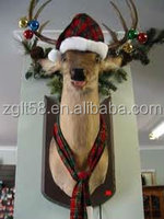 Christmas decorations life size Head Decoration