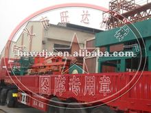 2012 Wangda logo New firing clay brick making machine all types