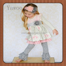 2015 yawoo children baby kids clothes baby market girls boutique clothing sets remaker fall fashion dress outfits clothing sets