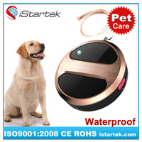 GPS dog tag/tracker with custom logo&collar for kids and pets