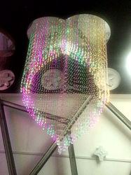 Luxury Energy Saving Light Source crystal chandelier fiber optic light