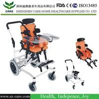 Height adjustable seat children wheelchair/baby wheelchair