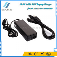 Black 19.5V 4.62A 90W Universal Laptop Charger for HP 710413-001 709986-003