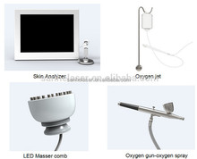 Top quality! diode laser hair growth New Hair Loss Treat /Laser+LED+Electric Current Laser Comb Hair Growth