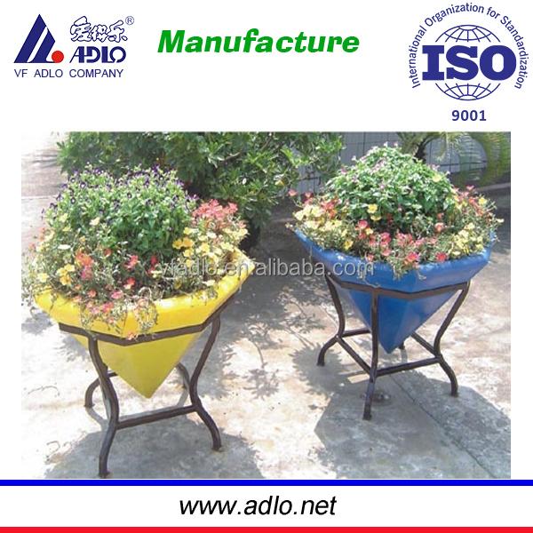Pote de plástico para plantas e flores / flores de plástico plantio potes / decorativo vasos de plantas de plástico