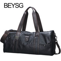 Hot Sale BEYSG Men Carry-on Sportsbag Tote Travel Pu Luggage Bags